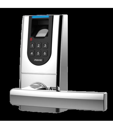 Cerradura Inteligente ANVIZ para control de accesos con biométrico y teclado