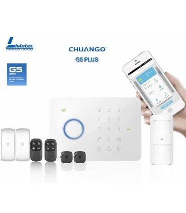 Alarme sans fil GSM CHUANGO G5 PLUS