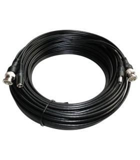 Cable coaxial combinado RG59 +DC 20 metros