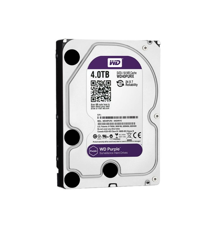Disco duro especifico para videovigilancia 4 TB WD Purple