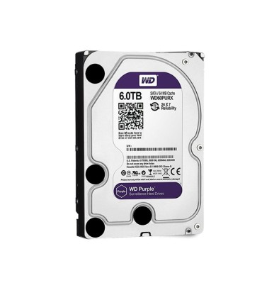 Hard Drive specific for video survellance 6 TB WD Purple