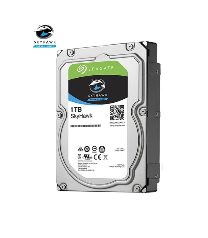 Hard drive specific for video surveillance Seagate SKYHAWK 1 TB