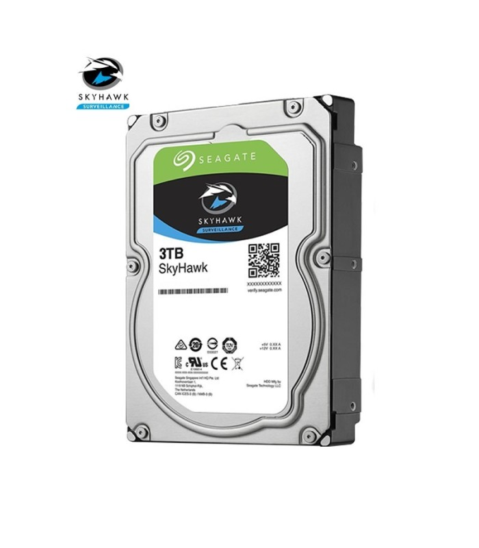 Hard drive specific for video surveillance Seagate SKYHAWK 3 TB