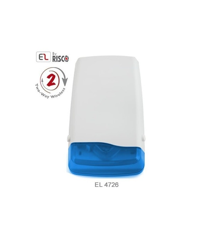 Sirene exterior sem fios EL-4726 para central iConnect 2-Way da Electronics Line