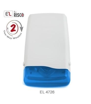 Sirena exterior sin cables EL-4726 para sistemas iConnect 2 vías Electronics Line