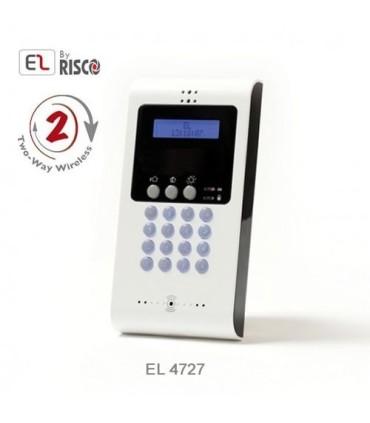 Clavier LCD bidirectionnel par radio EL4727 Electronics Line