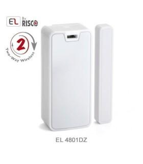 Detector de doble zona, magnético y transmisor universal, EL, 2Way EL4801DZ