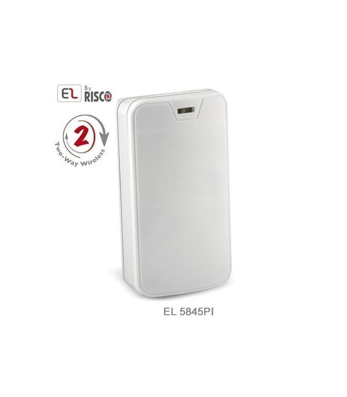 Détecteur de mouvement sans fil 1 & 2 voies, immunisé contre les animaux jusqu'à 45 kg, Electronics Line EL-5845PI