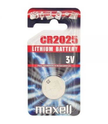 CR2025 - Maxell Lithium Battery