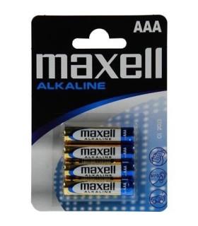 Pilha Alkalina AAA LR03 Maxell