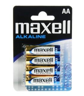 Batteria alcalina AA LR6 Maxell