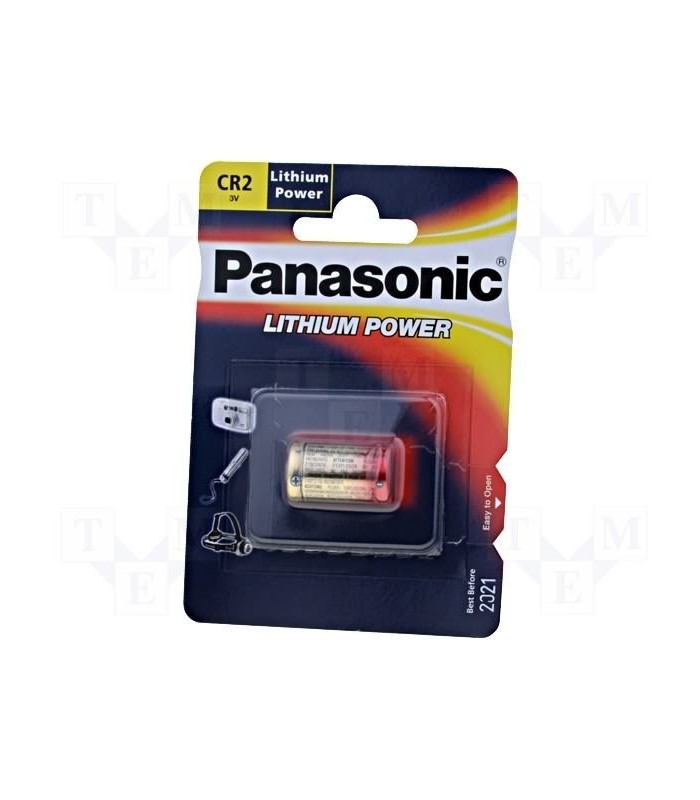 CR2 - Panasonic Super Lithium Battery
