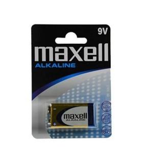 9V 6LR6 Maxell pile alcaline