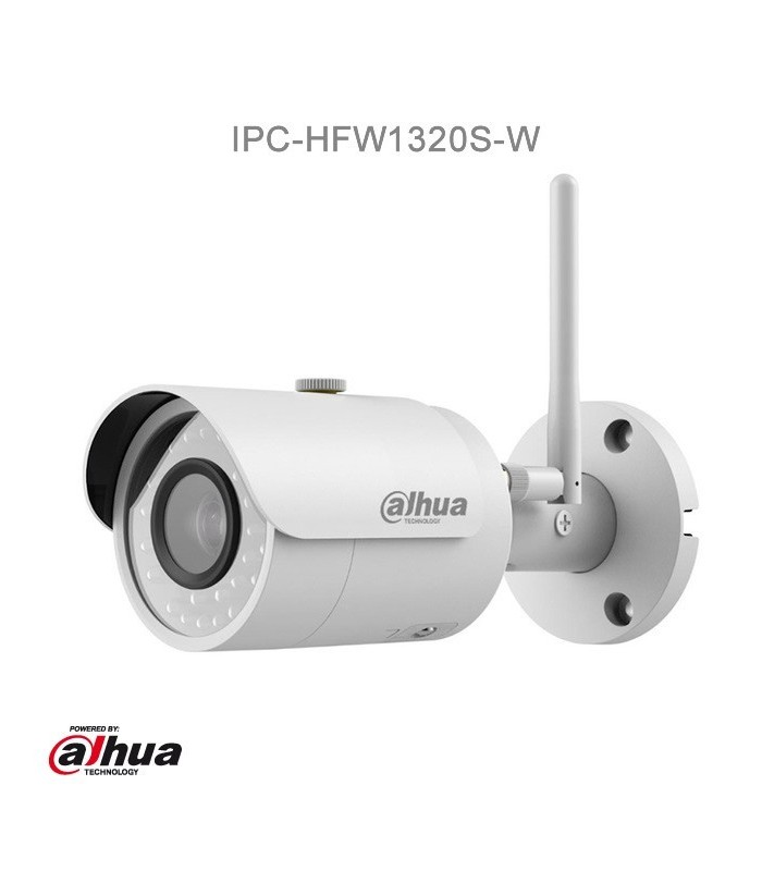 Camara IP Bullet Dahua, 3 Mpx, WIFI, IR 30 Metros, IP67