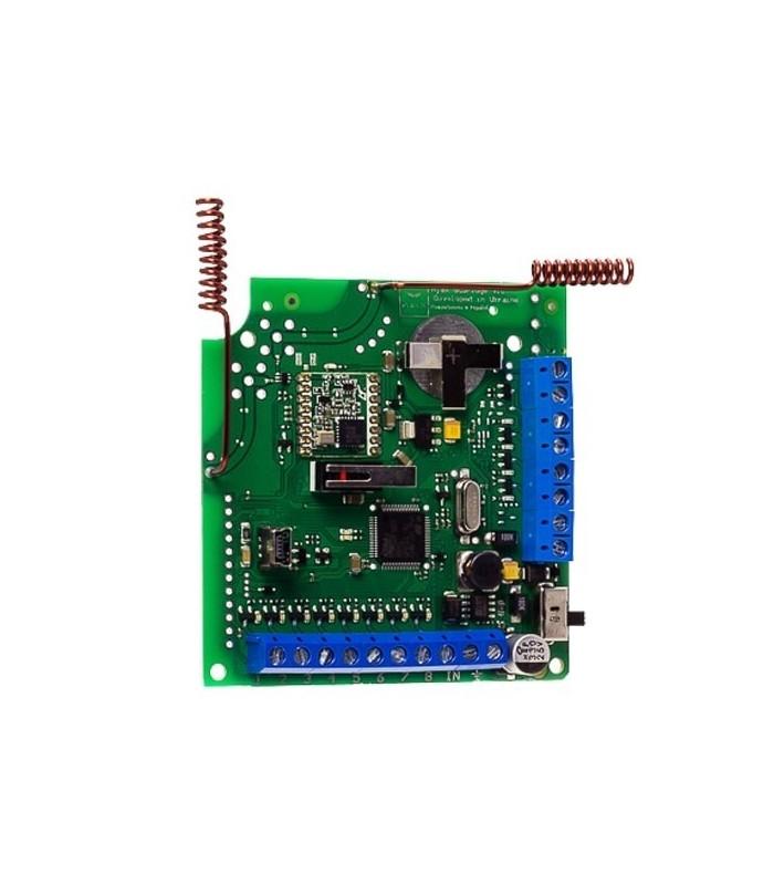 Module d'intégration avec les systèmes de sécurité câblés et hybrides