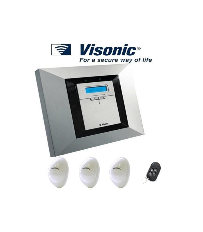 visonic powermax pro kit de alarme completo lisintec equipamentos de seguran a lda. Black Bedroom Furniture Sets. Home Design Ideas