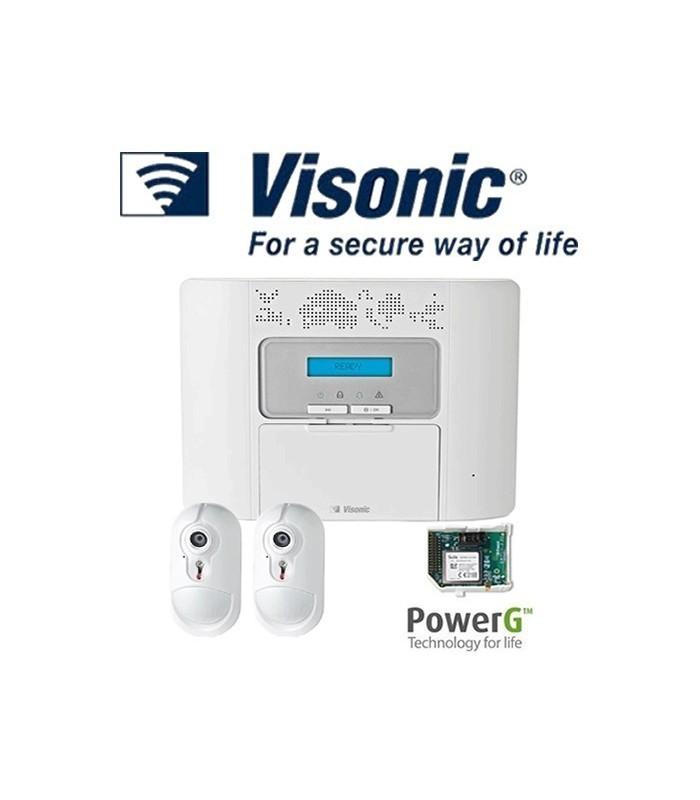 sistema de alarme visonic powermaster 30 g2 lisintec equipamentos de seguran a lda. Black Bedroom Furniture Sets. Home Design Ideas