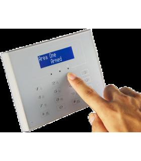 Teclado inalámbrico de 433 MHz de alarma bidireccional