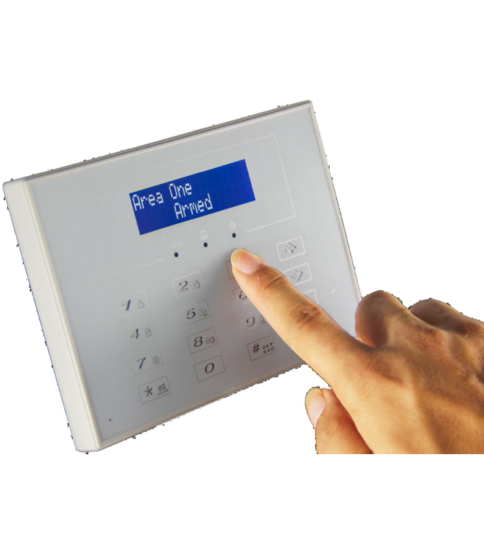 Wireless Keypad for Alarm 433MHz bidirectional