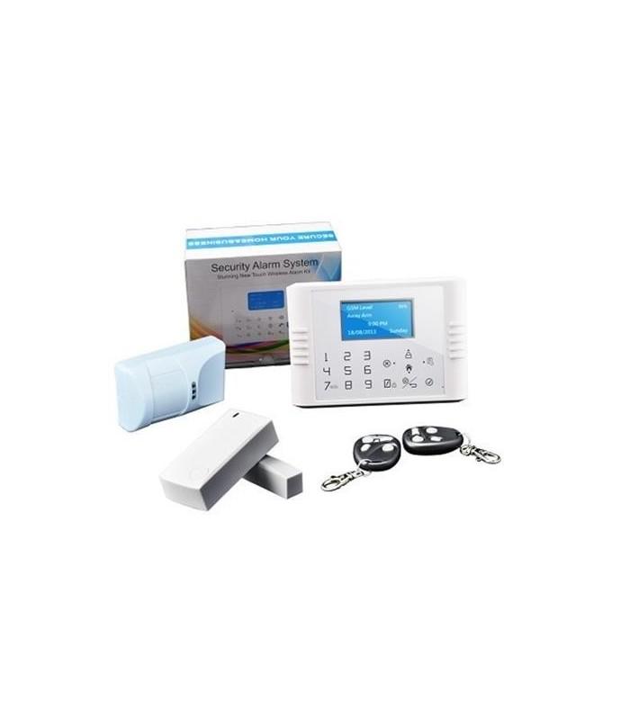 Système d'alarme sans fil réseau double GSM PSTN