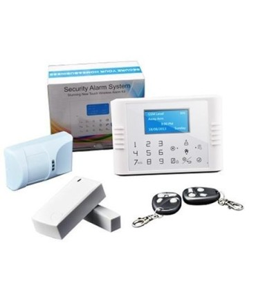 Kit de alarme sem fios GSM e linha fixa G70F