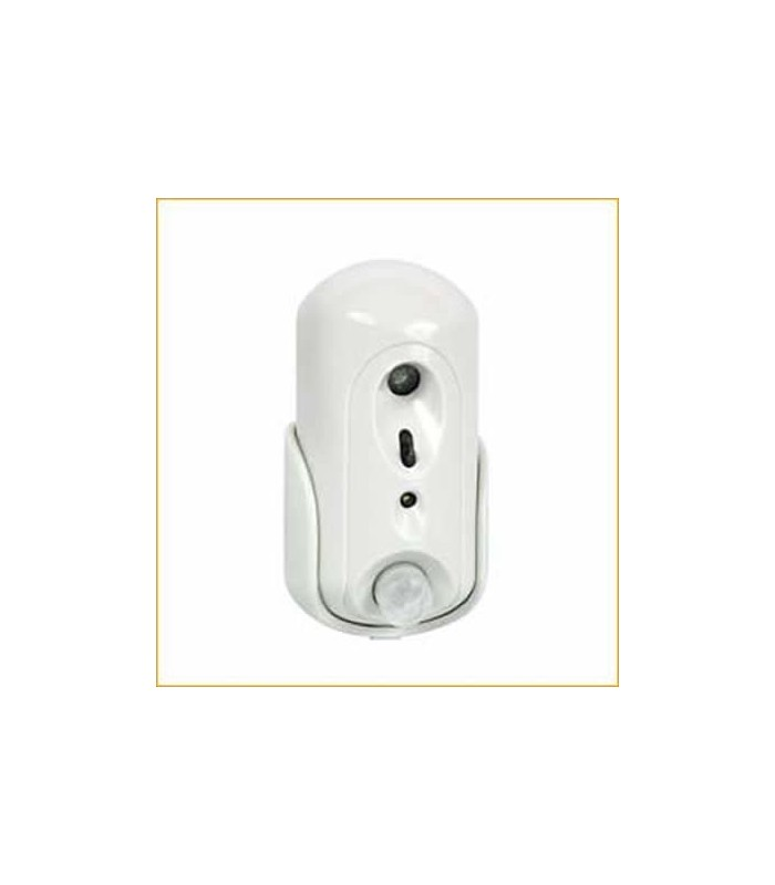 Wireless PIR motion detector with a built-in VGA camera SmartView