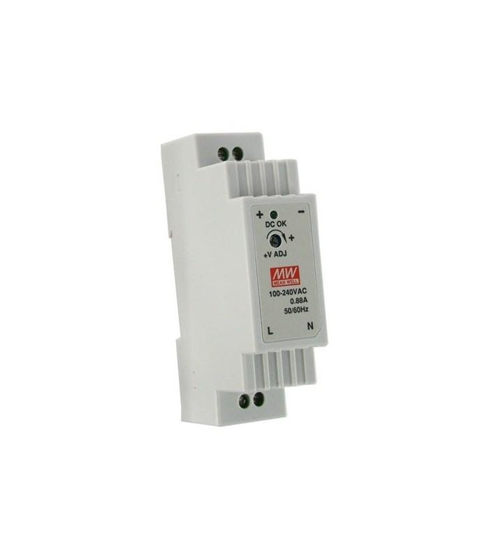 FuFuente de alimentación conmutada 12V 1.25A formato DIN