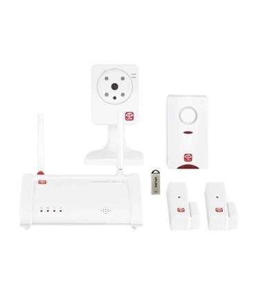 Alarm with video camera via internet - Oplink