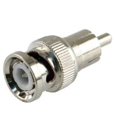 BNC Male to RCA Male Connector