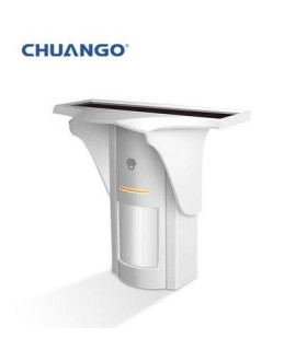 Chuango Solar-Powered Dual-Tech Motion Detector