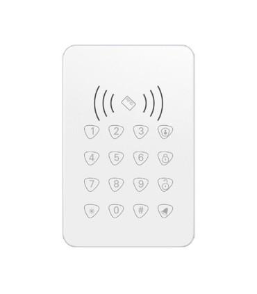 Teclado inalámbrico con lector de tarjetas RFID