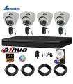 Video surveillance kit HD complete ready to install