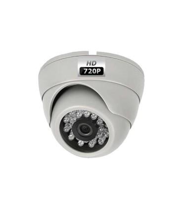 Caméra de surveillance mini-dôme HD CVI 720p avec vision nocturne jusqu'à 20m