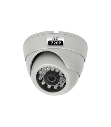 Surveillance camera Mini Dome HD CVI 720p with night vision up to 20m