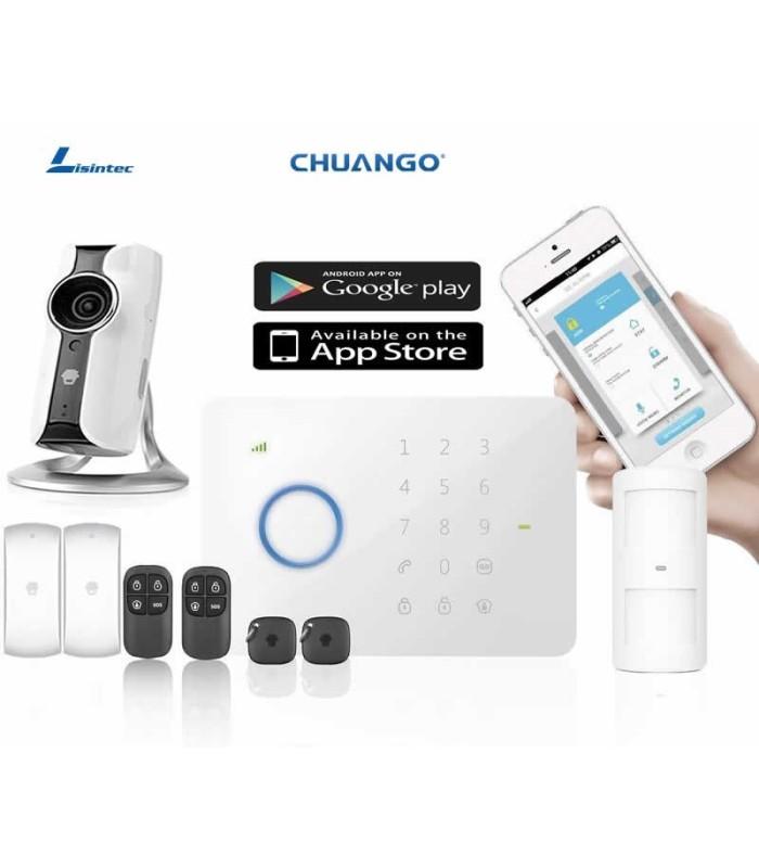 CHUANGO alarme G5 + Caméra IP116