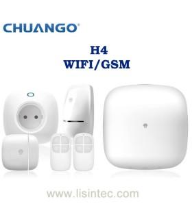 Sistema di allarme Wi-Fi e GSM Chuango H4