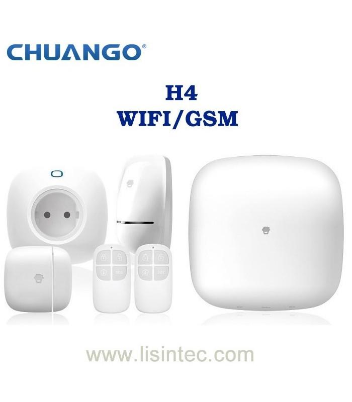 Sistema de alarma WIFI y GSM Chuango H4
