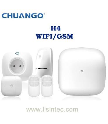 Système d'alarme WIFI et GSM Chuango H4