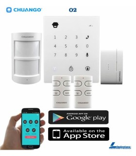 Kit de alarme wireless GSM Chuango GO2