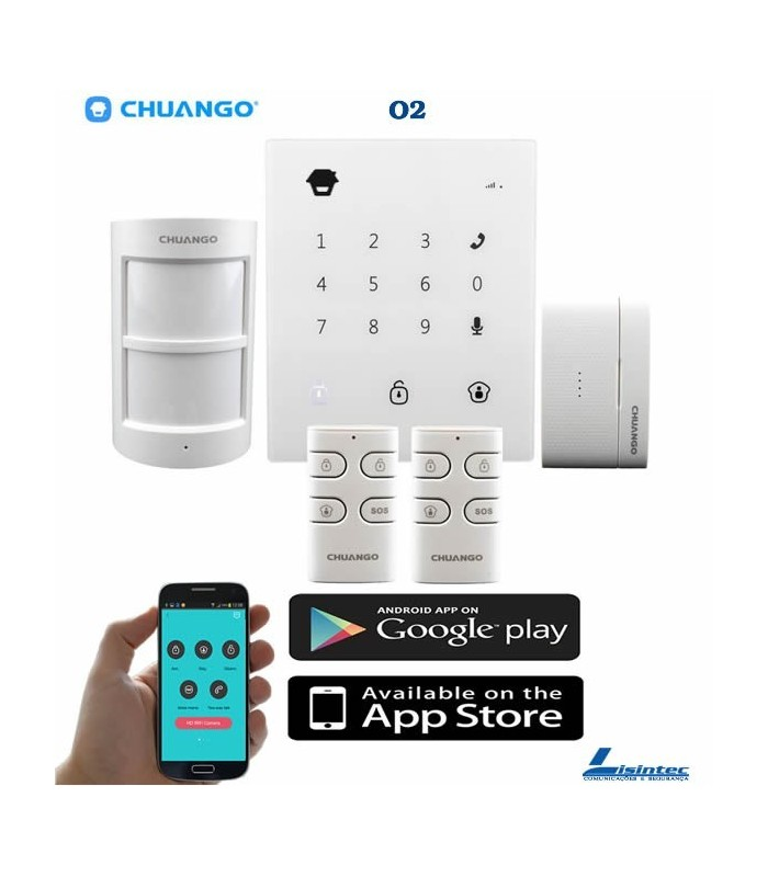 Alarme sans fil GSM CHUANGO GO2