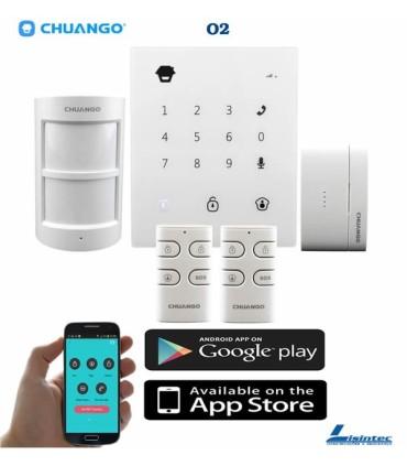 Kit alarma inalámbrica GSM CHUANGO O2