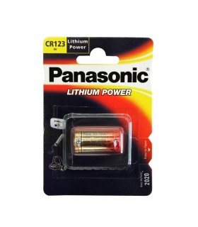 Pilha Panasonic CR123