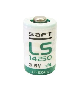 Batteria al litio Saft 3.6V 1/2 AA