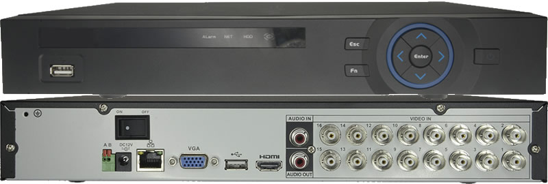 Video recorder HDCVI 16 Ch